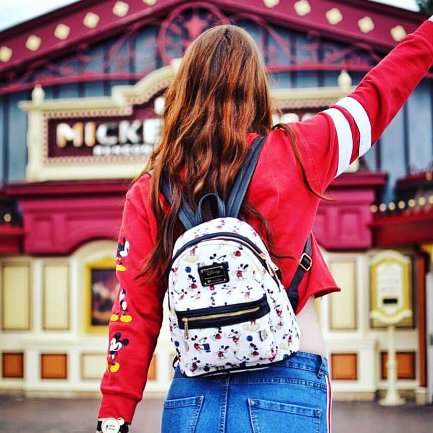 MINI SAC A DOS LOUNGEFLY MICKEY MOUSE