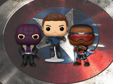 Winter Solider, Falcon & Baron Zemo