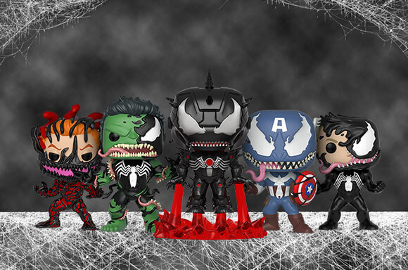 VENOMIZED POP! VINYL!