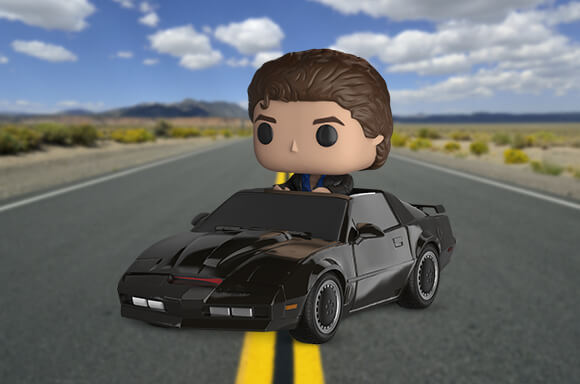 KNIGHT RIDER WITH KITT POP! VINYL