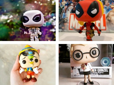 Find the very latest Pop In A Box Exclusives and limited edition Pop! figures right here! We've got plenty for you to choose from!