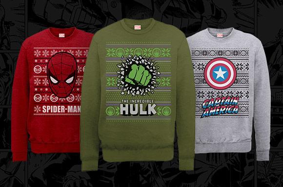 Marvel Pullover