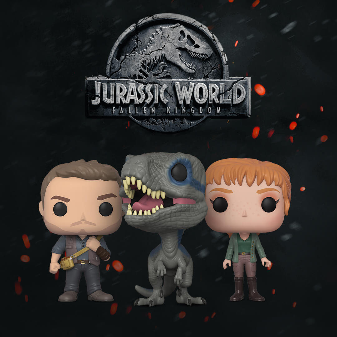 JURASSIC WORLD | 3 NEUE POPS