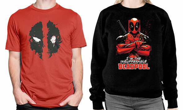 All of our Marvel Clothing!