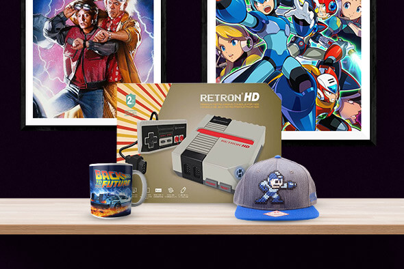 RETRO MERCH & TECH