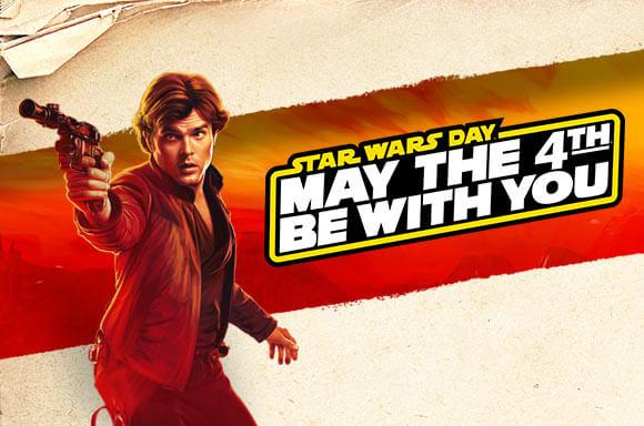 Star Wars<br>Promotions sur les Vêtements