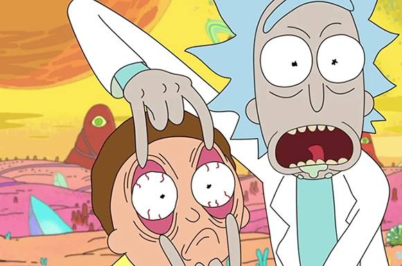 DO YOU WANT COOL, EXCLUSIVE RICK AND MORTY STUFF?