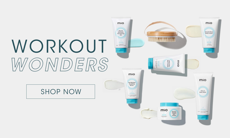 Workout Wonders, Shop Now.