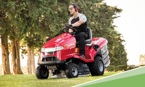 Honda Ride On Lawn Tractor
