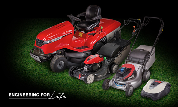 Honda Discounted Lawnmowers