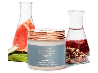 Exfoliante purificante para el cuero cabelludo Grow Gorgeous Defence