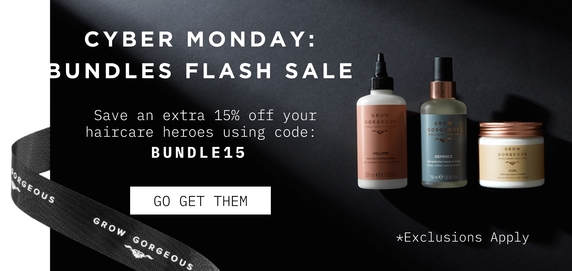 Save an extra 15% off on Bundles