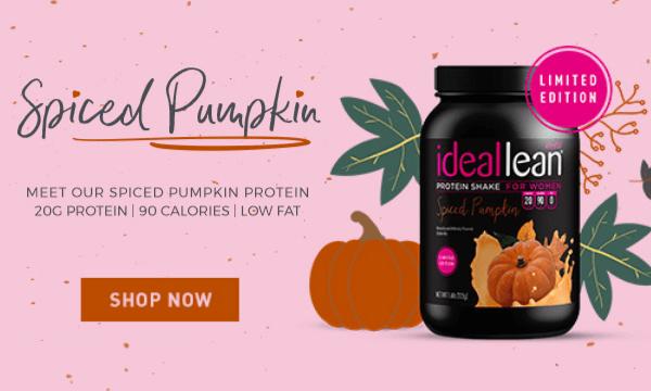 NEW! Spiced Pumpkin Whey Protein