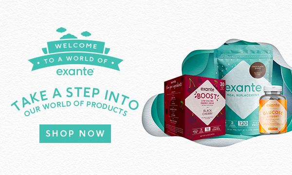 exante - take a step into our world of products