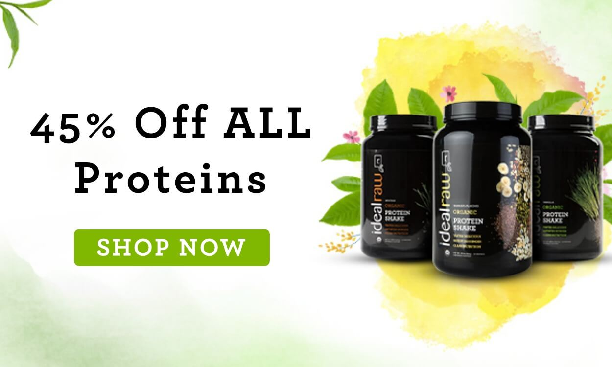 45% off all proteins