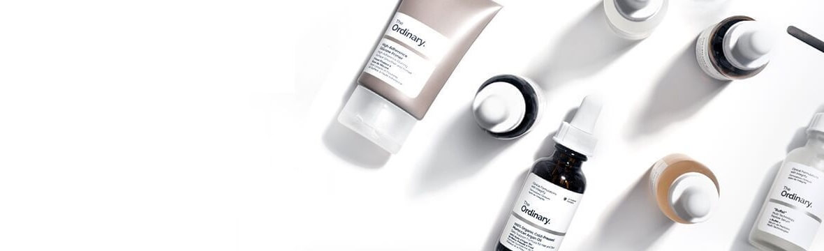 the ordinary product range on Lookfantastic