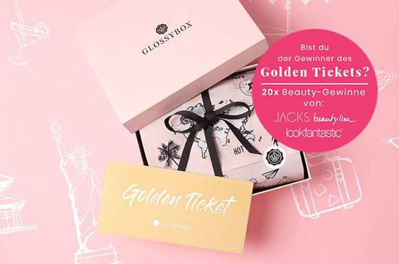 juni june Glossybox 2020 world of beauty