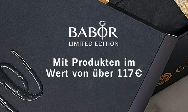 GLOSSYBOX BABOR limited Edition 2020 coming soon