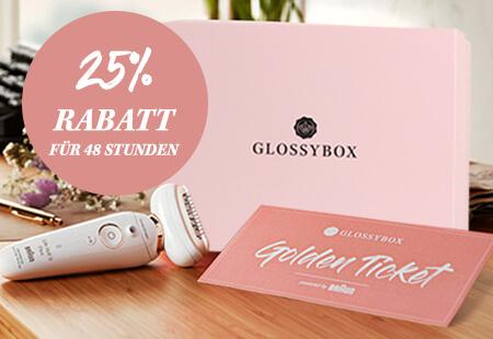 valentinstag offer glossybox 25 prozent rabatt