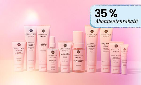 GLOSSYBOX Skincare 35 % Rabatt
