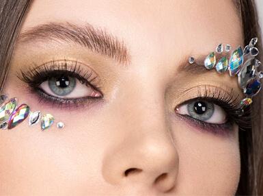 GLOSSY Tutorial: Showgirl-Look