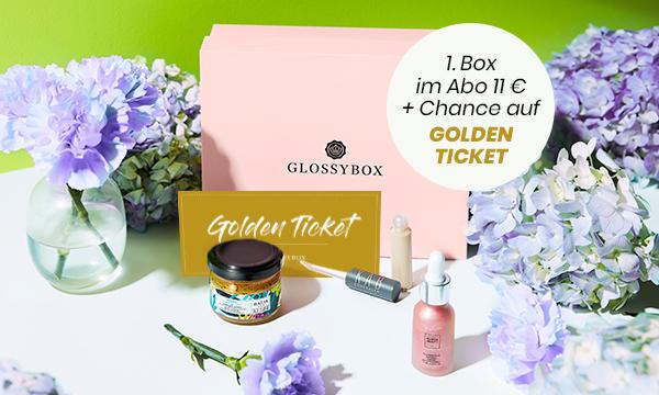 NEU: Aprilbox + GOLDEN TICKET!