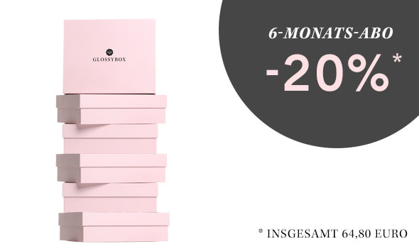 GLOSSYBOX Beauty Box 6-Monats-Abo