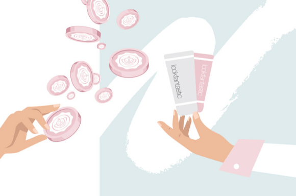 GLOSSYCredit is our exclusive reward scheme to give back to Glossies who engage in our GLOSSY world. They can use them to treat themselves to their favourite beauty must-haves on glossybox.co.uk and lookfantastic.com.