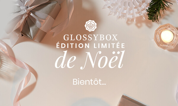 GLOSSYBOX Xmas Limited Edition 2020 coming soon