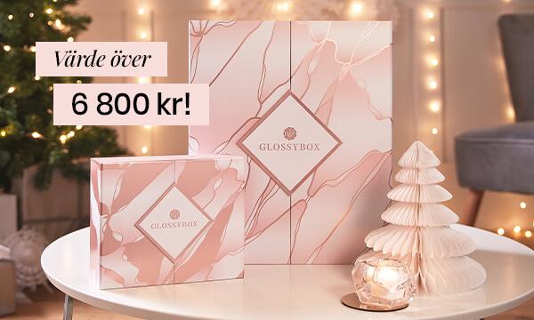 Köp vår lyxiga adventskalender och limiterade julbox för endast 1249 kr!