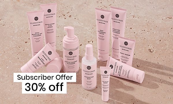 30% off GLOSSYBOX Skincare