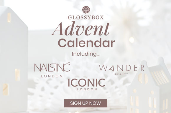 GLOSSYBOX Advent Calendar - Coming Soon - Glossies get priority access so subscribe now!