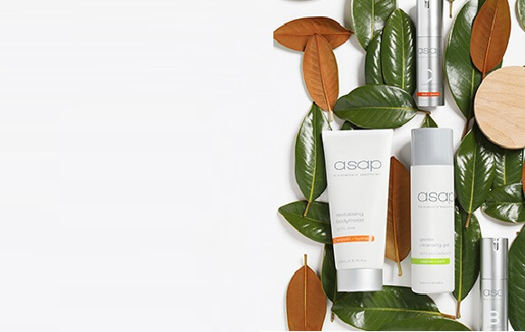 Save 25% on asap. Plus, receive a FREE asap Daily Exfoliating Scrub 15ml when you spend over $69 on brand!.