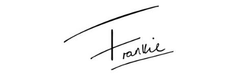 Frankie's Signature