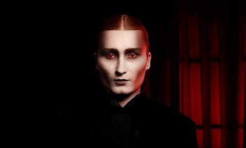 Get the 'Fright' look this Halloween, with our Vampire Boy Look.