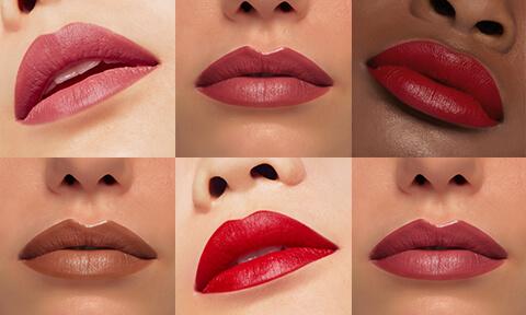 Lascia parlare le tue labbra. Indossa il colore del tuo manifesto. Per un effetto opaco, satinato o lucido, crea il bronzio perfetto nelle nostre bellissime tonalità e formule.
