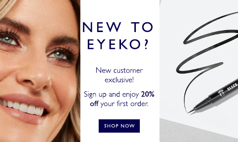 New customers sign up to receive 20% off