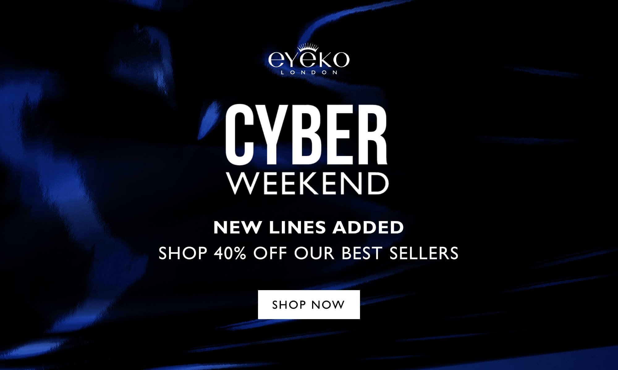 Last Chance - Cyber Weekend 40% off everything