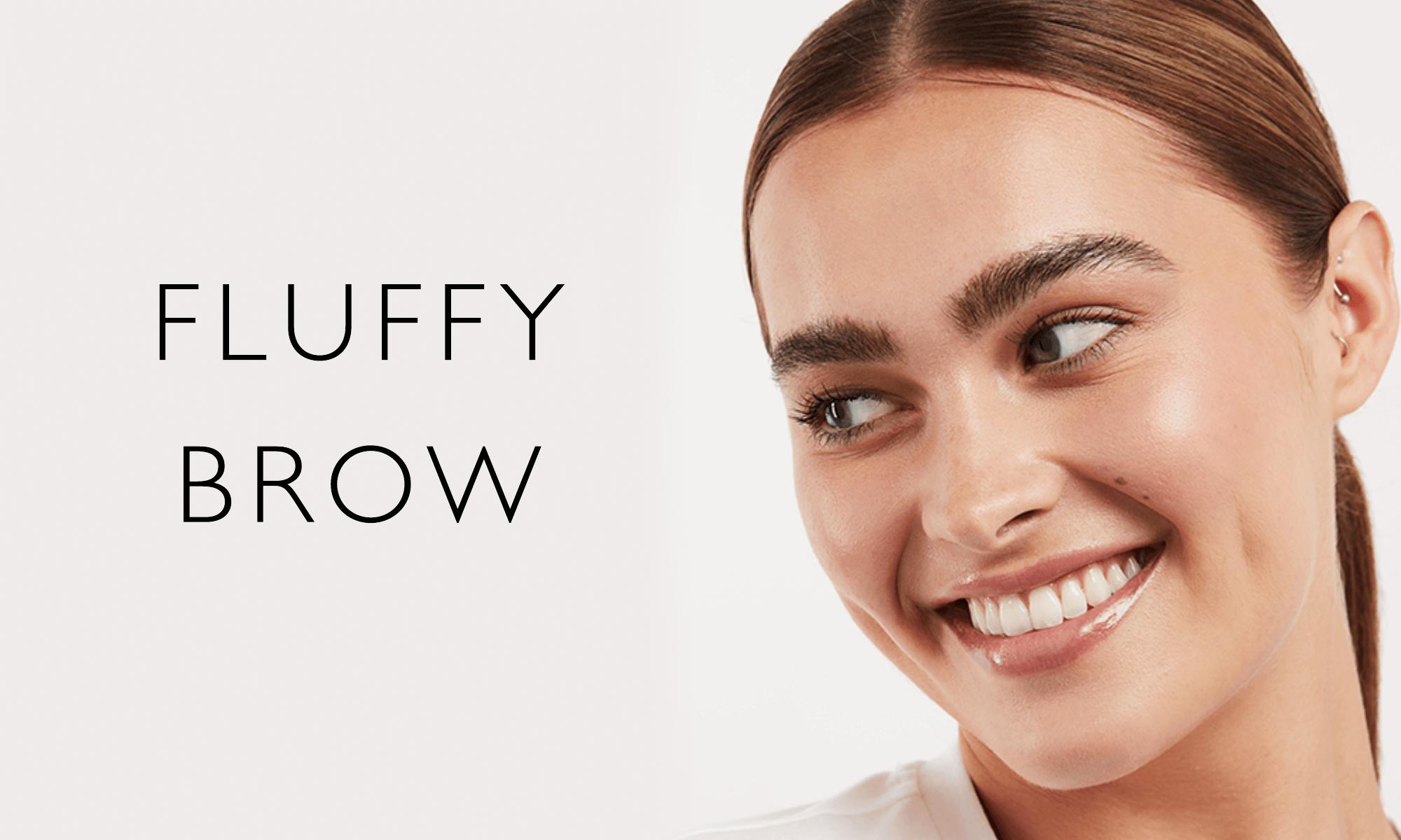 fluffy brows
