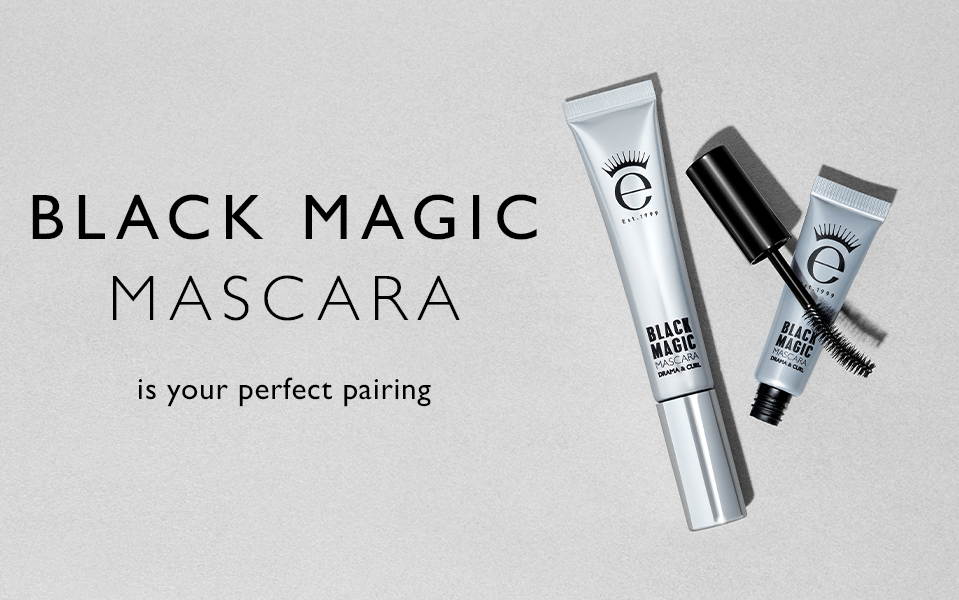 Black Magic Mascara is your pairing