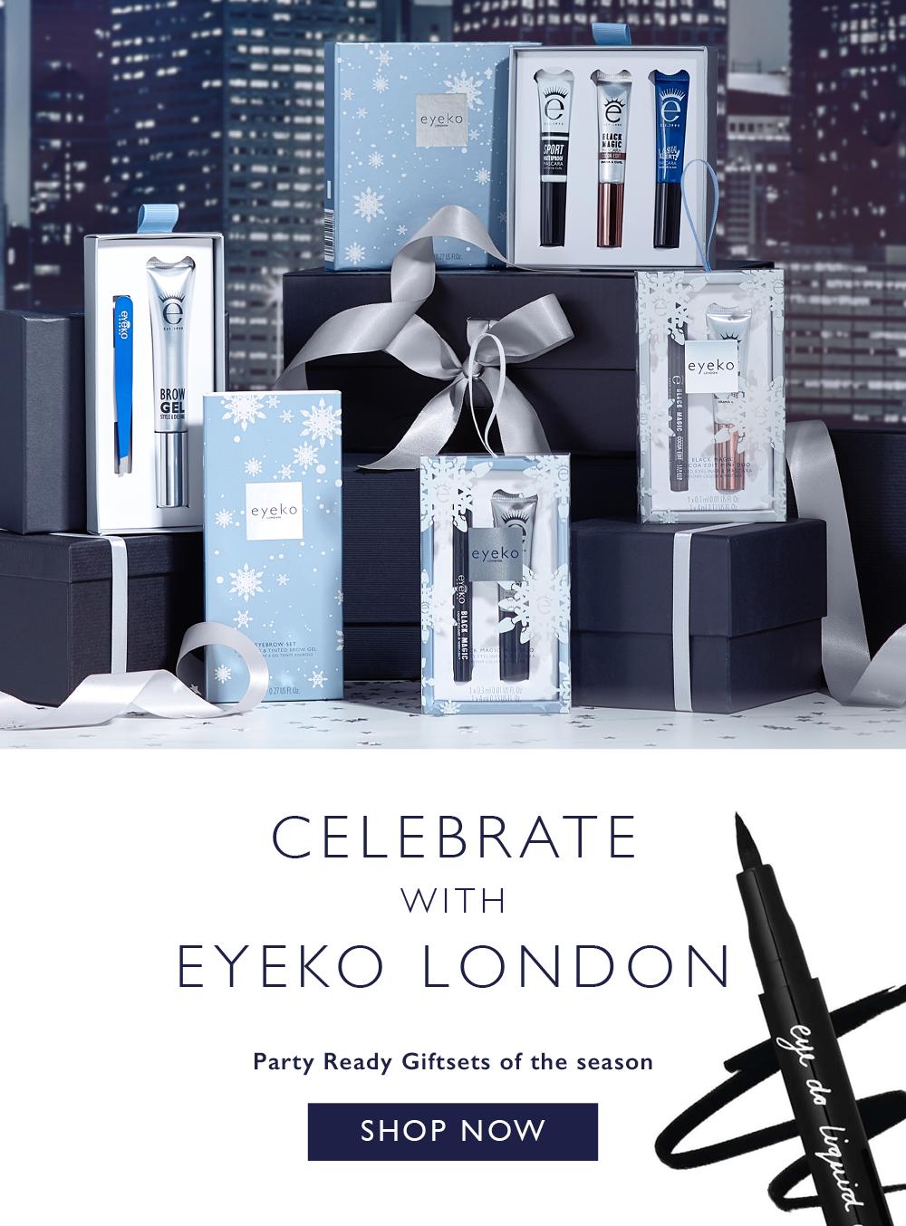 Celebrate the Holiday with Eyeko London