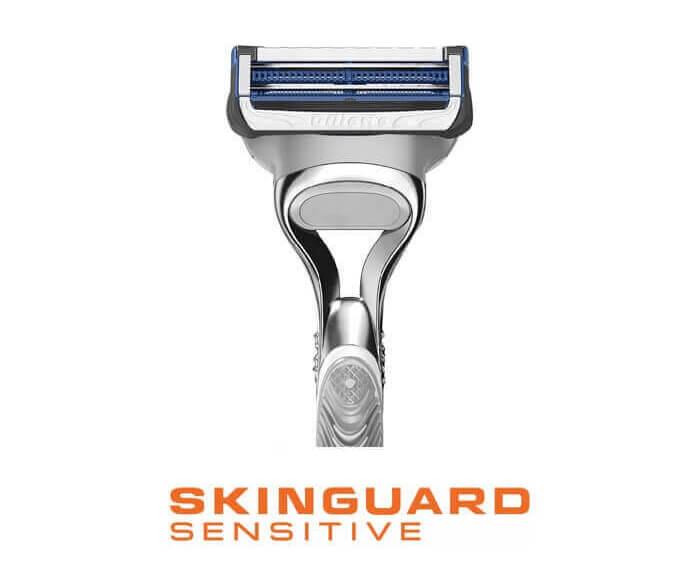 SkinGuard Sensitive Rasierer für empfindliche Haut | Nassrasierer | Gillette DE