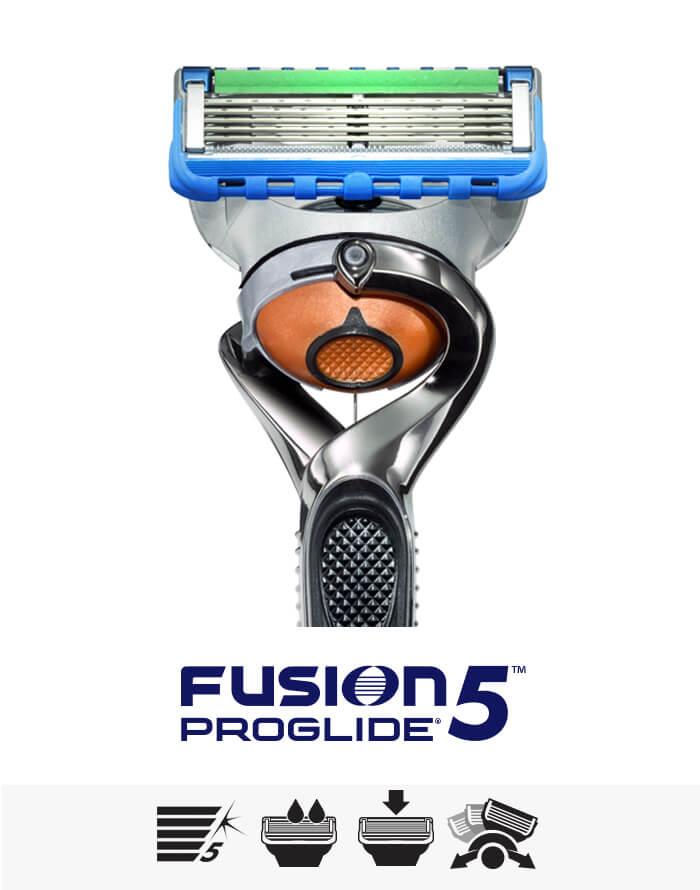 Fusion5 ProGlide Portfolio: Rasierer, Rasierklingen, Rasiergel und Schaum | Gillette DE