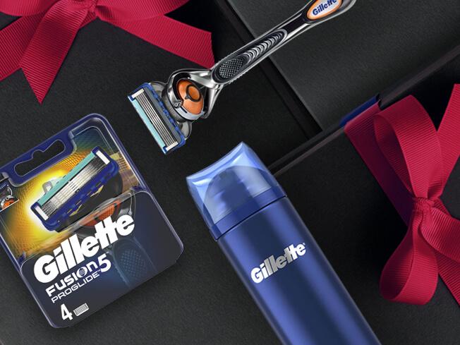 Gillette Shaving Kits and Washbag