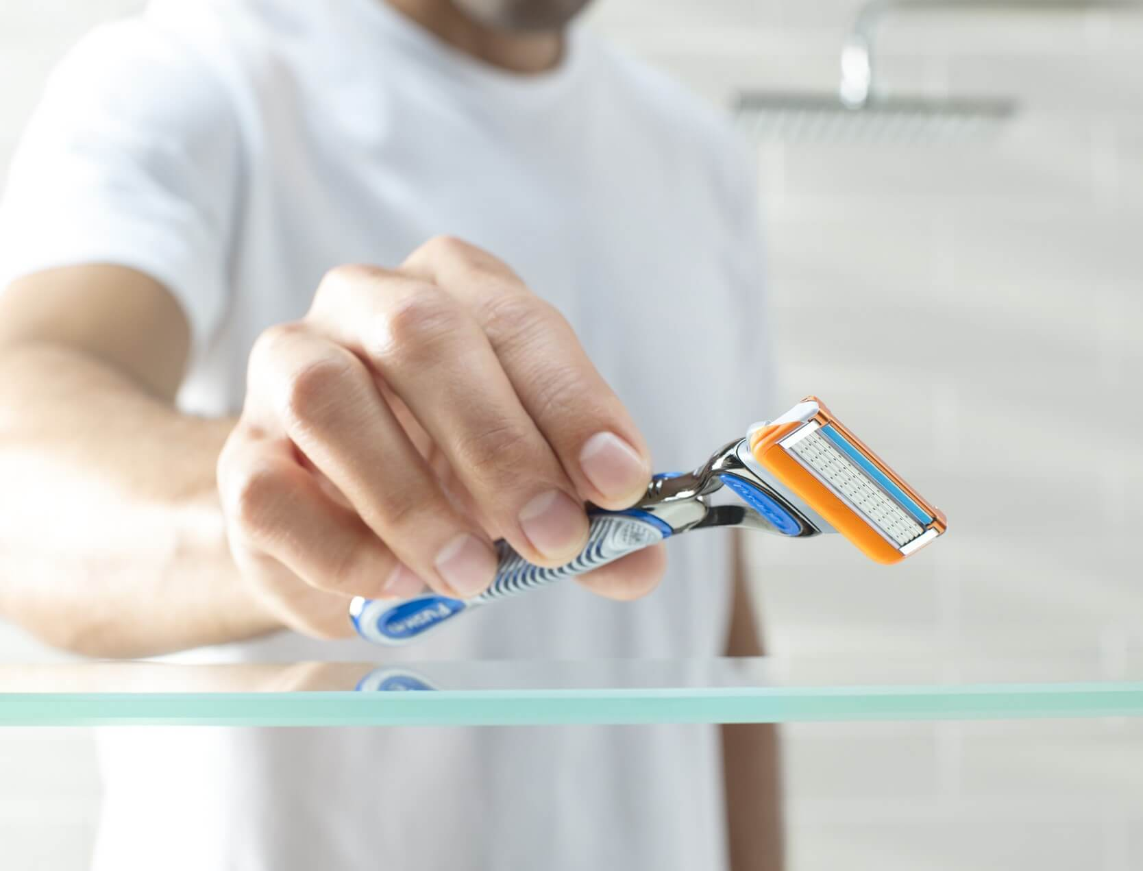Explore our range of razors and blades with free next day delivery over £15