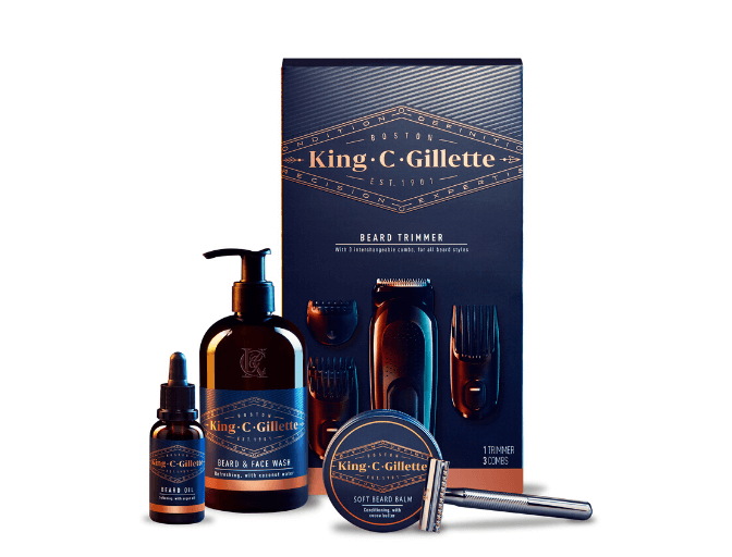 King C. Gillette Ultimate Beard Grooming Kit