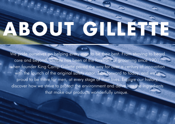 ABOUT GILLETTE