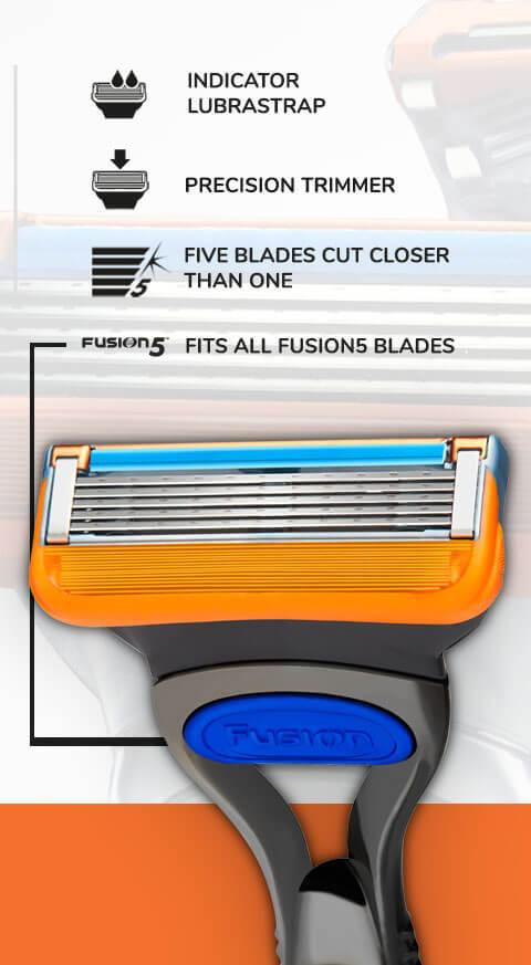 Gillette Fusion5 razor.