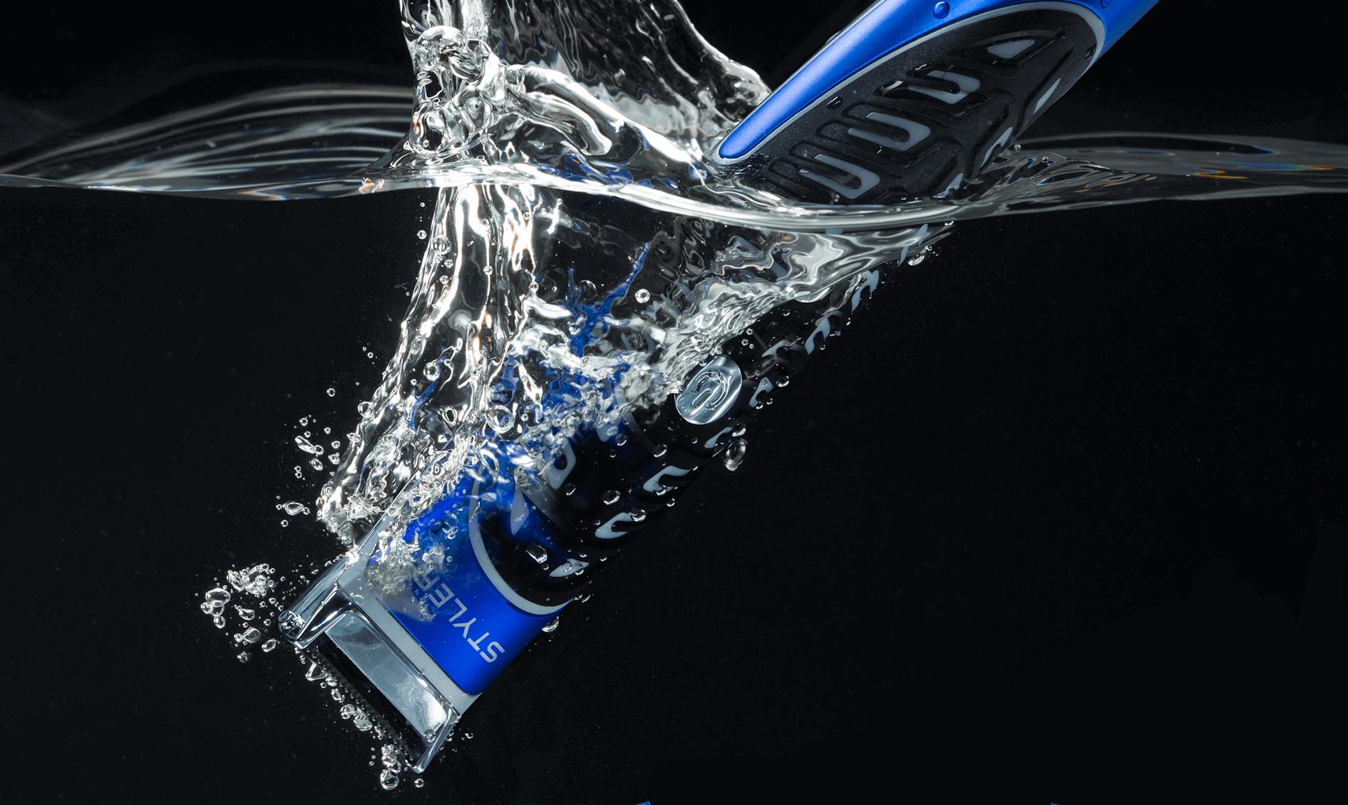 Beard Trimmer & Styler in Water