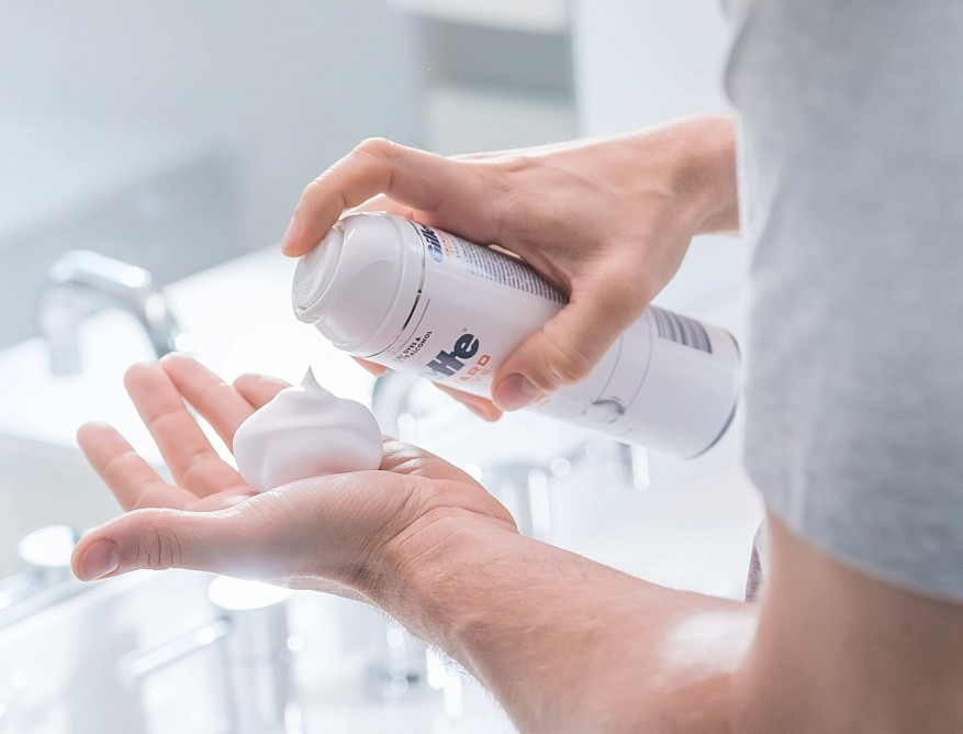 Explore Gillette's portfolio of shaving preparation products, including shaving creams, shaving gels, and shaving foams.